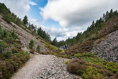 Path between Carn na Loinne and Eag Mhòr