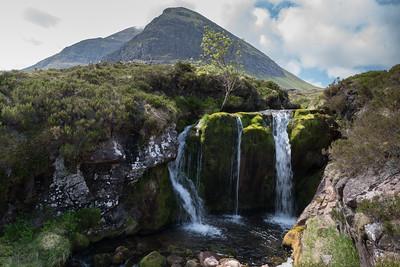 Waterfall of Allt a' Mhuilinn