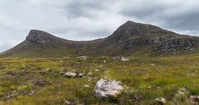 The horse shoe formed mountain of Beinn Ghobhaig (Forked mountain)