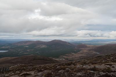 View form Cairn Gorm