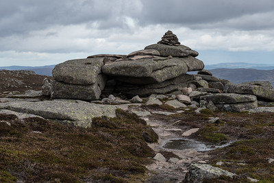 Tor on top of Conachcraig (Abundance of Rocks)