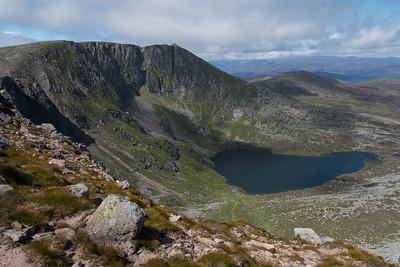 Deep down the loch called Lochnagar