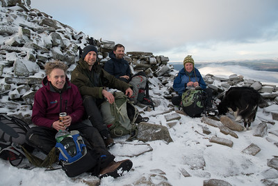 A break on the summit