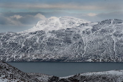 Slioch on the other side of Loch Maree