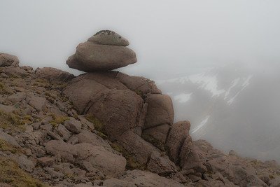 A reclining mountain giant