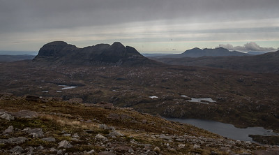 View of Suilven and Canisp