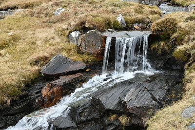 Wee waterfall of Allt Breabaig
