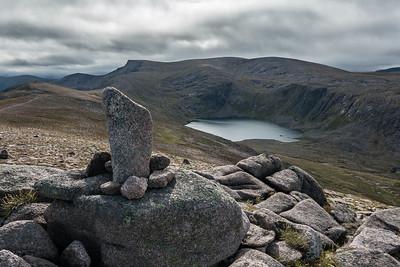 First peak of Beinn Mheadhoin