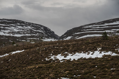 Chalamain Gap in the distance