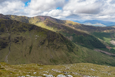 Spurs of Stob Bàn and Mullach nam Coirean