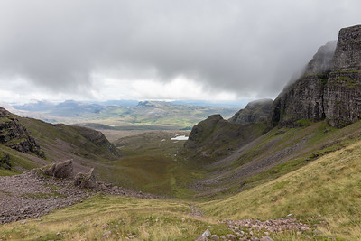 The 300m high, 40 degrees slope of Coire an Fhamhair which cost me a lot of sweat to conquer