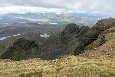 Coire na Poite, this time without clouds
