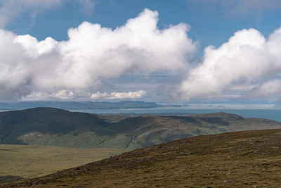 View of Skye and the Outer Hebrides beyond