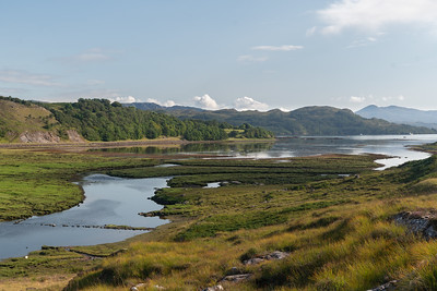 Again, River Kishorn with Loch Kishorn in the soft late afternoon light