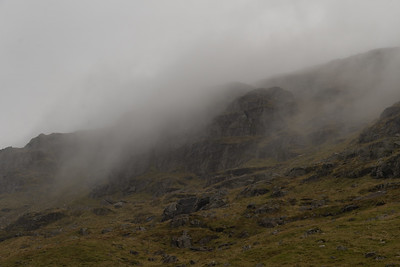 Clouds on the Cobbler never seem to lift