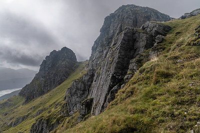 Crags of the west summit