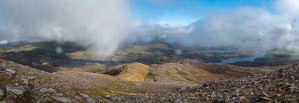 A broad view of Loch Keyatie