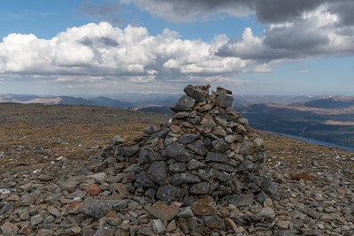 The cairn of Carn Liath