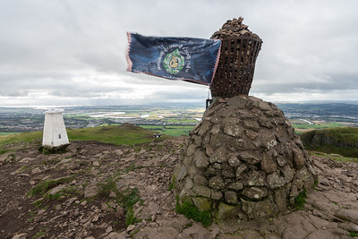 A cairn dedicated to the Argyll and Sutherland Highlanders