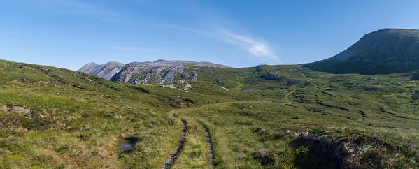 The last leg towards Baelach Horn