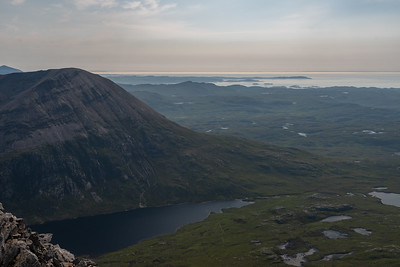Arkle and the surrounding landscape