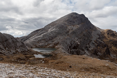 The beautiful corbett An Ruadh-Stac which we left for another walk