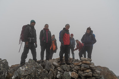We reached the summit!
