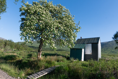 The information said this ramshackle shed had been used as a classroom!