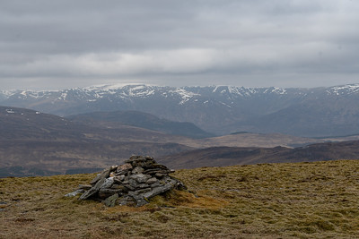 Creag Meagaidh in the distance