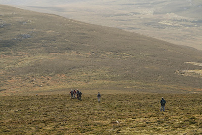 Approaching Clach-Mheall