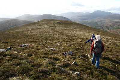 Walking on Croidh-la