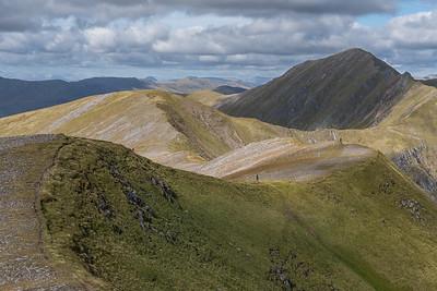 A gentle ridge walk