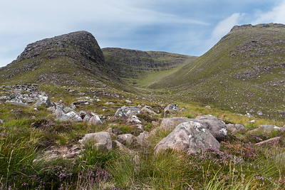 "Beinn Alligin, wat ""de mooie berg"" betekent"