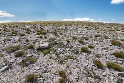 Sub-arctic tundra plateau