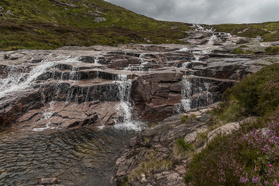 Allt an Dubh-loch is actually one prolonged waterfall