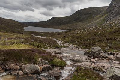 Looking back towards Loch Dubh