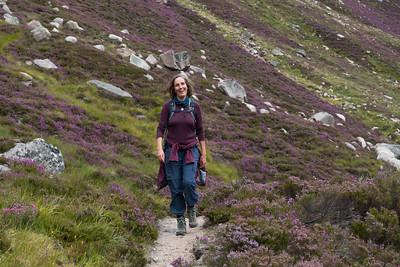 Alexandra harmonising well with her surroundings