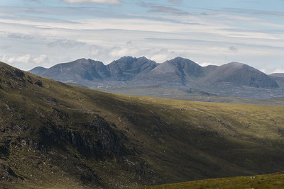 An Teallach in the distance