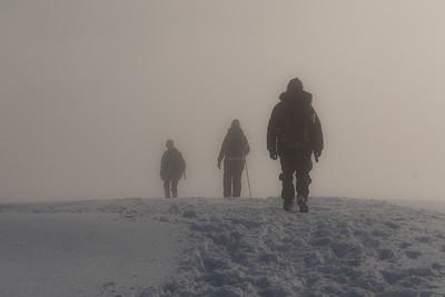 A brief visit of mist