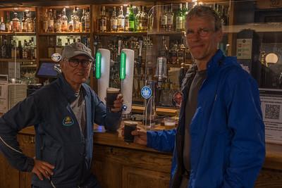 Een halve pint Guinness in de Olde Bridge Inn