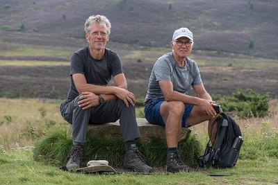 Klaas en Lammert bij de Ryvoan Bothy