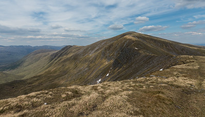 Looking back to Sgurr nan Conbhairean
