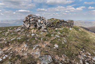 Sgurr nan Conbhairean's cairn