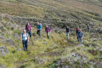 Negotiating the boggy approach path