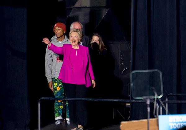 Hillary Clinton Rally 2016