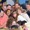 Taking selfies in the crowd with State Senator Steve Bieda.  Ray Skowronek--The Macomb Daily