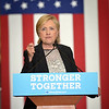 Hillary Clinton in Warren.  Ray Skowronek--The Macomb Daily