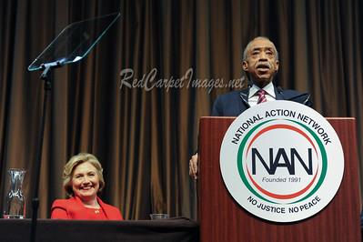 Hillary Clinton, Al Sharpton