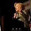 Hillary Rodham Clinton attends the AFL-CIO Pennsylvania Convention
