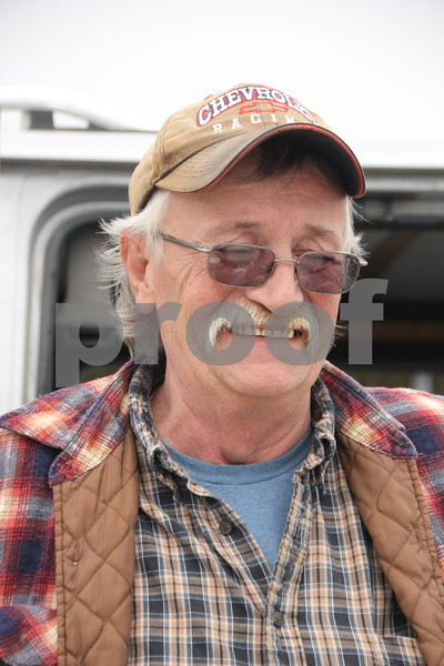 Saturday, May 7. 2016 the Webster County Fairgrounds in Fort Dodge held the Hillbilly Sale Flea Market. Shown here is: Steve Tempel, another of the vendors at the Flea Market event.